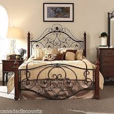 beautiful headboard for metal frame wooden headboard to metal bed