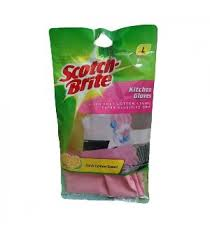 scotch brite light duty scotch brite light duty gloves large 1 pc