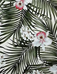 hawaiian upholstery fabric orchids tropical home office decor