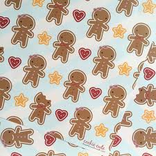 gingerbread man writing paper five sheets of gingerbread man wrapping paper by asking for five sheets of gingerbread man wrapping paper
