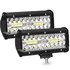 led security light bar ambother led pods 2pcs 7 240w off road driving lights led work