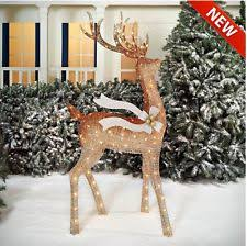 lighted christmas deer ebay