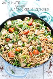 Quick Simple Dinner Ideas Best 20 Spaghetti With Chicken Ideas On Pinterest Spaghetti