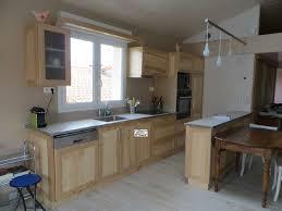 cuisine en bois naturel cuisine bois naturel galerie avec cuisine bois et decoration