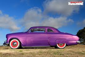 vauxhall purple 1954 vauxhall velox mini lead sled street machine