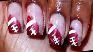 football nail art design youtube