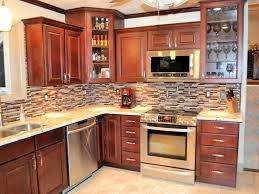 interior astonishing mosaic tile kitchen backsplash black marble