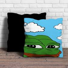 Meme Pillows - this is pepe the frog meme pillow cushion removable poly cotton