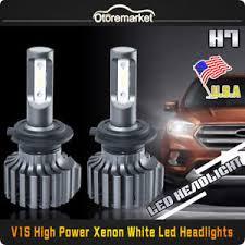 light bulb conversion to led cree csp h7 led headlights light bulbs conversion kit fit mercedes
