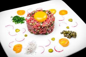 tartare cuisine steak tartare sol y pimiento