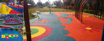 Cheap Outdoor Rubber Flooring by Ecofloormate Sports Rubber Surfaces Rubber Flooring