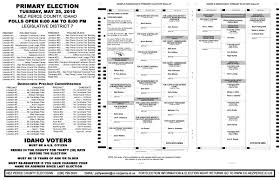 student council election ballot template recipe cards template