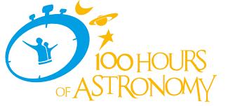 logo 100 hours of astronomy astronomy 2009