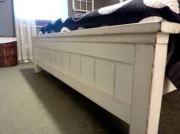 Farmhouse Bed Frame Plans White King Farmhouse Bed Diy Projects