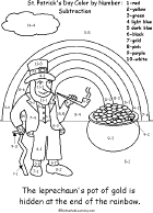 rainbow pot of gold coloring pages st patrick u0027s day crafts for kids enchanted learning software
