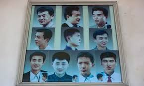korean men s hairstyles ancient north korean hair cuts in pictures world news the guardian