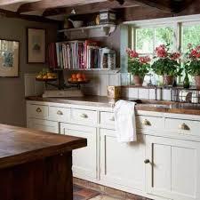 kitchen window backsplash appealing country kitchen with rustic flower pots on kitchen