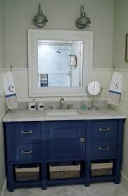 bathroom vanity painted with chalk paint diy home decor