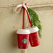 starbucks 2013 cup ornament one home kitchen