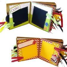 las vegas scrapbook vacation casino paper bag album paper