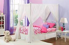 Girls White Twin Bed Girls Princess Bed Ebay