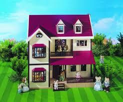 sylvanian families cuisine sylvanian families oakwood manor avec chambre à coucher pour enfants