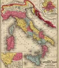 Ancient Italy Map Stock Photos by Omnis Rerum Romanitatum Licensed For Non Commercial Use Only