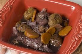 cuisiner des pieds de porc ragoût de pieds de cochon aux châtaignes recettes cuisine