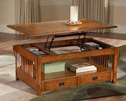 pull up coffee table lift top coffee table storage 19