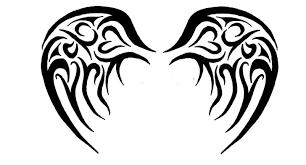 tribal angel wings tattoo 1000 ideas about tribal wings on