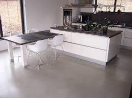 cuisine béton ciré fantastiqué béton ciré plan de travail cuisine mobilier moderne