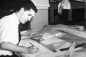 Engineering Drafting Table Engineer Working On Plans For Lake Union Area Circa 1960s U2026 Flickr