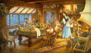 snow white dwarfs u2014 art scott gustafson