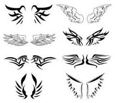 wings designs images tattoos