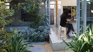 a seamless indoor outdoor courtyard design