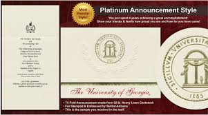 of graduation announcements of