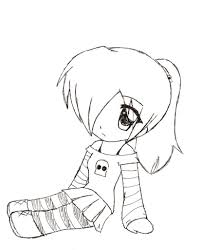 cute chibi anime drawings cute chibi easy drawings coloring