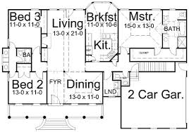 House Design For 150 Sq Meters Country Style House Plans Plan 24 150