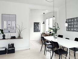 monochrome home decor black decor in a white interior coco lapine designcoco lapine design