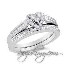 Heart Wedding Rings by 23 Heart Wedding Rings Create A Romantic Moment Stylepecial