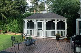 beautiful 18x36 oval gazebo project at creation museum in