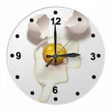 themed clocks kitchen wall clocks eggs themed modern kitchen clocks