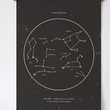 printable star constellation map shop celestial star map on wanelo