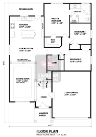 Floor Plans For Bungalow Houses Classy Design Ideas Free Bungalow House Plans Canada 15 Tiny House