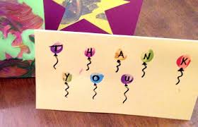 kids thank you cards kids thank you cards 4 simple cards that kids can easily make