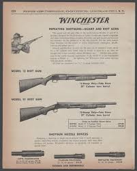 1957 winchester model 12 pigeon grade and magnum duck gun shotgun