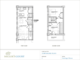 Two Bedroom House Plans by Floor Plans