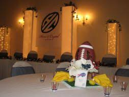 football centerpieces nfl football stadiums our sports themed