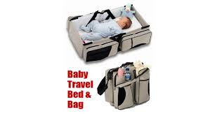 2 in 1 baby travel bed u0026 bag online shopping in dubai shoponz