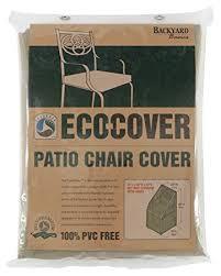 Outdoor Bar Setting Furniture by Amazon Com Mr Bar B Q Backyard Basics Eco Cover Pvc Free